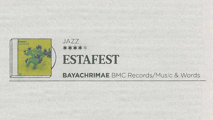 Estafest - Bayachrimae review